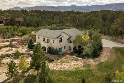 Castle Pines, Castle Rock, Larkspur Single Family Home Active: 8376 Sugarloaf Road
