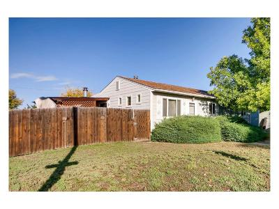 Westminster Single Family Home Under Contract: 7801 Yates Street