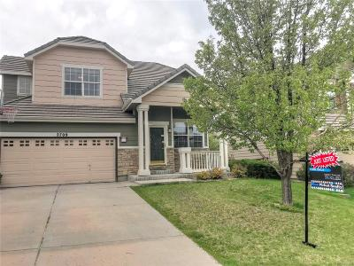 Meadows, The Meadows Single Family Home Under Contract: 2709 Poplar Grove Place