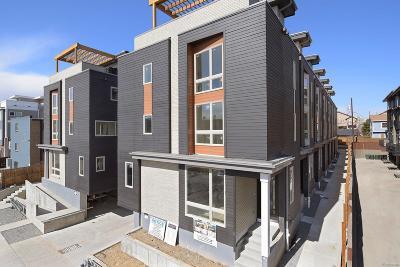 Denver Condo/Townhouse Under Contract: 2615 West 25th Avenue #1