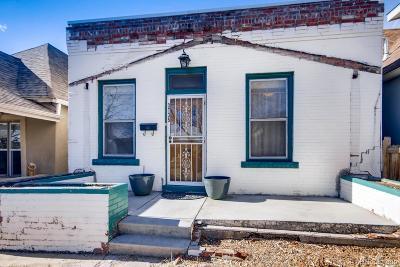 Denver Single Family Home Active: 3735 Navajo Street