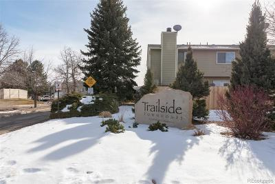 Arvada Condo/Townhouse Under Contract: 8615 Carr Loop