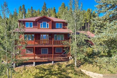 Nederland Single Family Home Under Contract: 299 Alpine Drive