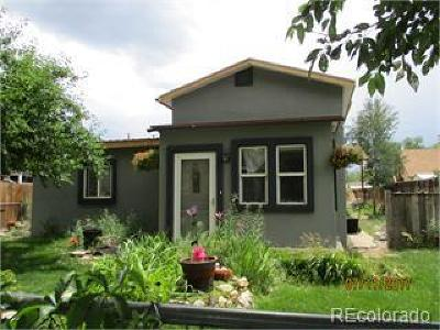 Salida Single Family Home Under Contract: 741 West First Street