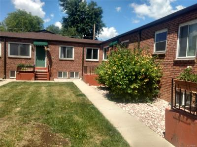 Denver Condo/Townhouse Active: 1607 Vrain Street