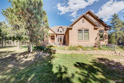 Colorado Springs Single Family Home Active: 15605 Pole Pine Point