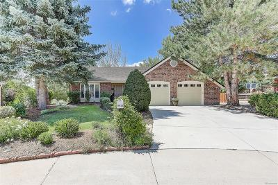 Centennial CO Single Family Home Under Contract: $650,000