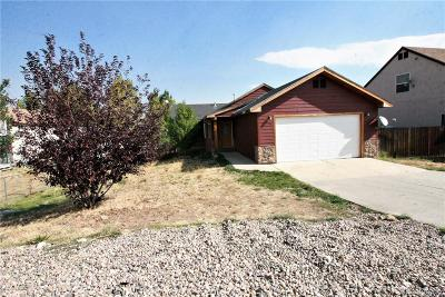 Routt County Single Family Home Under Contract: 349 Honeysuckle Drive
