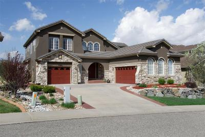 Castle Pines Single Family Home Under Contract: 12367 Montano Way