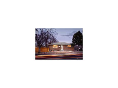 Denver Single Family Home Active: 1770 South Oneida Street