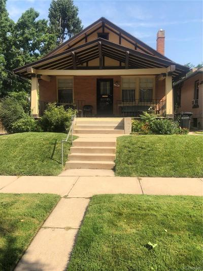 Denver Single Family Home Under Contract: 4627 Batavia Place