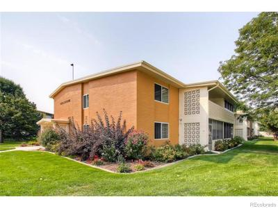 Denver Condo/Townhouse Active: 9320 East Center Avenue #10B