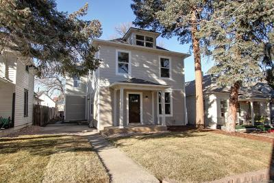Denver Single Family Home Under Contract: 3847 Zenobia Street