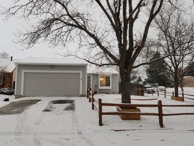 Aurora CO Single Family Home Active: $270,000