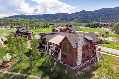 Routt County Single Family Home Active: 2624 Bronc Buster Loop
