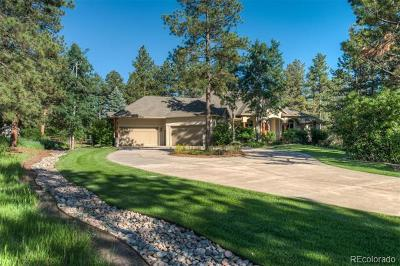 Franktown Single Family Home Active: 7943 Kelty Trail