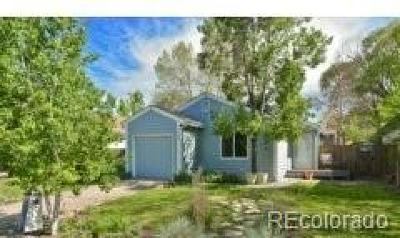 Longmont CO Single Family Home Under Contract: $315,000