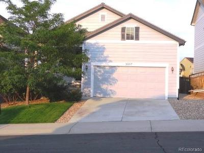 Castle Rock Single Family Home Under Contract: 3057 Black Canyon Way