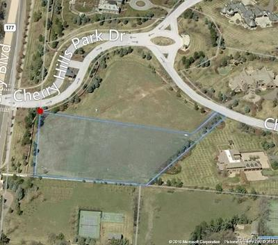 Arapahoe County Residential Lots & Land Active: 16 Cherry Hills Park Drive