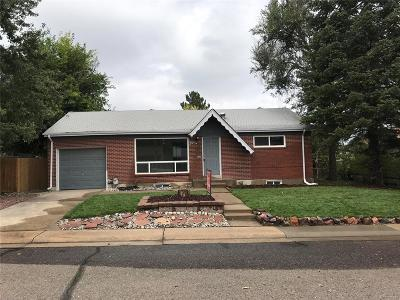 Northglenn Single Family Home Active: 285 Linda Sue Lane