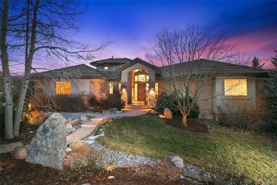 Boulder Single Family Home Under Contract: 7469 Spring Drive
