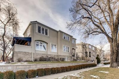 Cherry Creek Condo/Townhouse Sold: 335 Josephine Street #A