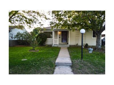Denver CO Single Family Home Active: $267,000