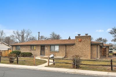 Arvada Single Family Home Under Contract: 7657 Lamar Street