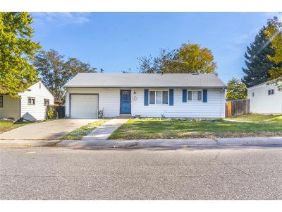 Denver Single Family Home Active: 2726 South Linley Court