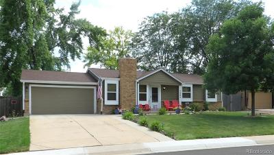 Littleton Single Family Home Active: 10982 West Patterson Place