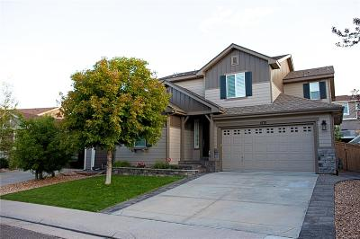 Highlands Ranch Single Family Home Under Contract: 4778 Bluegate Drive