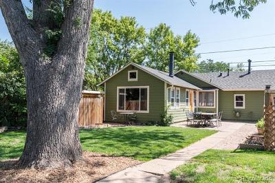 Single Family Home Under Contract: 4180 Fenton Street