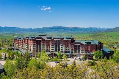 Steamboat Springs CO Condo/Townhouse Active: $126,000