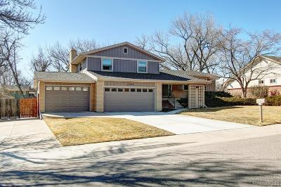 Littleton Single Family Home Under Contract: 5502 West Fair Drive