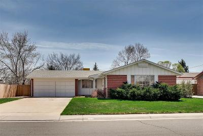 Arvada Single Family Home Active: 10840 West 68th Place