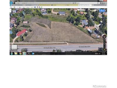 Jefferson County Residential Lots & Land Under Contract: West Coal Mine Avenue
