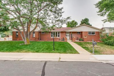 Wheat Ridge Single Family Home Active: 3605 Union Court
