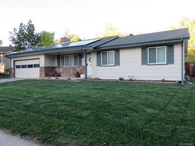 Littleton Single Family Home Active: 7412 South Vance Street