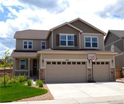 Castle Rock Single Family Home Under Contract: 7488 Blue Water Drive