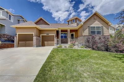 Castle Rock Single Family Home Active: 2142 Paint Pony Circle