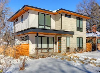 Denver Single Family Home Active: 1675 South Saint Paul Street