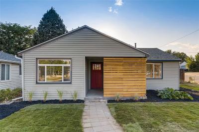 Denver Single Family Home Active: 4895 Umatilla Street