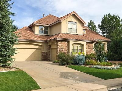 Lone Tree Single Family Home Active: 9425 South Shadow Hill Circle