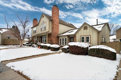 Littleton Condo/Townhouse Active: 9634 West Chatfield Avenue #D