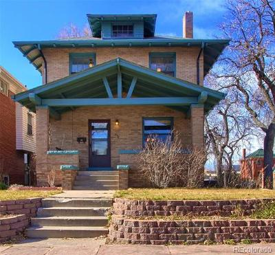 Denver Single Family Home Active: 571 North Emerson Street