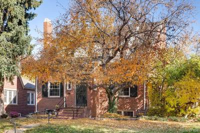 Denver Single Family Home Active: 1344 Eudora Street