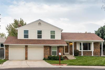 Aurora Single Family Home Active: 1496 South Yampa Court