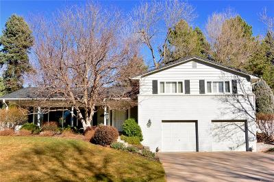 Denver Single Family Home Under Contract: 2982 South Fillmore Way