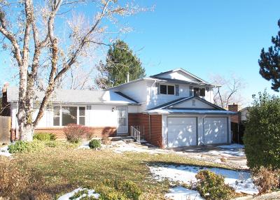 Littleton Single Family Home Active: 7672 South Gray Street