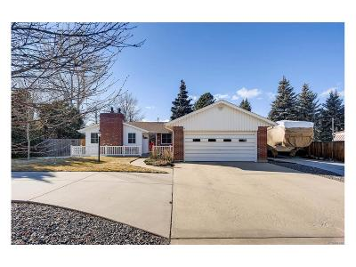 Arvada Single Family Home Under Contract: 7695 Kline Drive